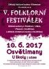 V. folklórní festiválek